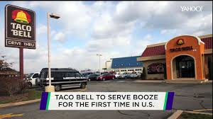 taco bell to serve cervezas at new u s location