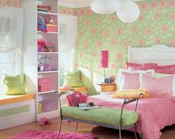 Pink Girls Bedroom Girls Bedroom Captivating Pink And Green Modern Bedroom