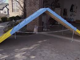 How To Build A Tent How To Build A 3 Part Dog Agility Course How Tos Diy