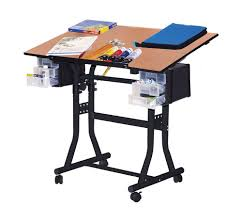 buy art desk online amazon com martin creation station art hobby 24 inch by 40 inch
