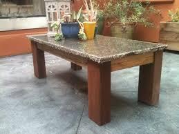 Granite Top Coffee Table Granite Top Coffee Table