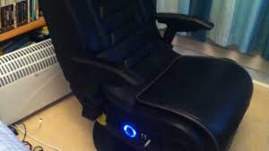Rocking Gaming Chair X Rocker Pro Series Gaming Chair Review Youtube