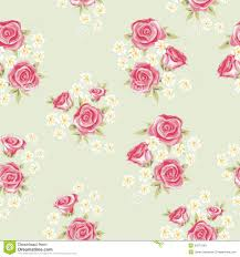 Chic Flower Rose Pattern 3 Stock Images Image 32877064