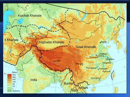 Mongolian Empire Map Mongols Genghis Khan Conquered The Other Tribes Expanded His