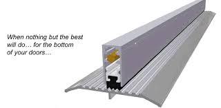 Door Bottom Sweeps For Exterior Doors Automatic Door Bottoms From Knc