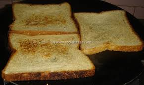 Buttered Bread In Toaster Garlic Butter For Bread Toast