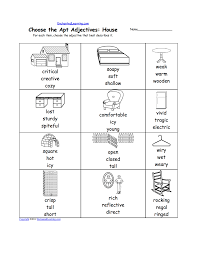 writing worksheets homes and other dwellings at enchantedlearning com