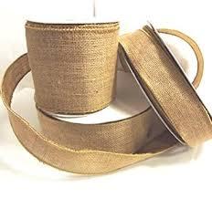 rustic ribbon adorox 1 5 wide burlap rustic ribbon spool crafts