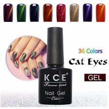 uv glue nail polish manicure cats eye color dark color 10 ml green