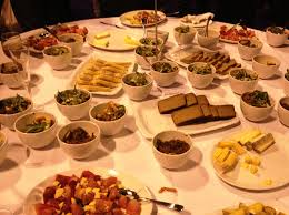 table full of food south west table bbc good food awards yorkshire dales food