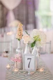Silver Wedding Centerpieces by Kansas City Wedding By Becca Spears Spray Painting Pretty