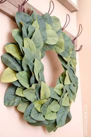 diy farmhouse magnolia wreath unoriginal
