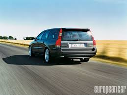 volvo v70 r european car magazine