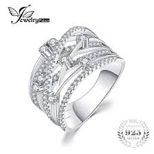 cheap rings images Simple silver rings cheap genuine luxury cubic zirconia jpg
