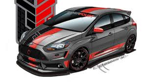 ford focus st aftermarket 2013 ford focus st gets the sema treatment performance tuning