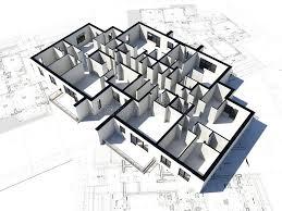 blueprint floor plan floor plan and some blueprint royalty free stock photography