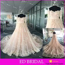tie dye wedding dress new shoulder sleeve heavy appliques real
