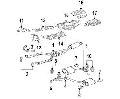 lexus gs300 exhaust parts com lexus exhaust system exhaust components rear hanger