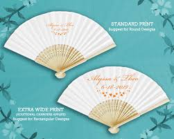 personalized fans personalized silk fans w front print
