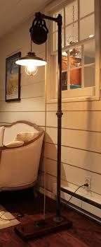 Pulley Floor L Vintage Industrial Floor L Furniture Ideas Pinterest