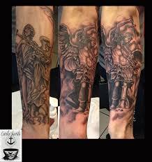 realistic tattoo rome sculpture tattoo san angel sculpture
