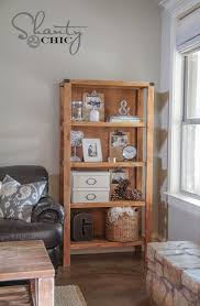 Potterybarn Bookcase Diy Pottery Barn Inspired Bookcase Shanty 2 Chic