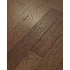 shop style selections 5 in mocha hickory engineered hardwood