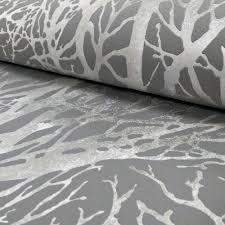 as creation forest pattern wood tree metallic pearl motif embossed