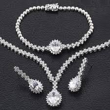 zircon necklace set images China jewelry set from guangzhou wholesaler guangdong xuping jpg