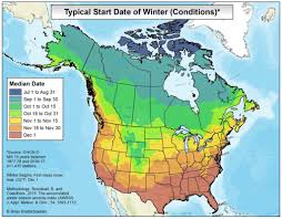 climate and agriculture in the southeast when does winter begin