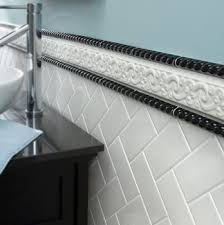 Bathroom Tile Border Ideas Colors 8 Stylish Bathroom Tile Ideas