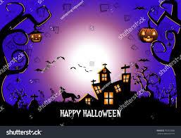 halloween background vector illustration stock vector 703733806