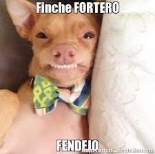 F Memes - finche fortero fendejo meme de perro f imagenes memes