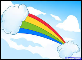 how to draw rainbows step by step stuff pop culture free