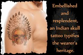 what are skull tattoos and what do they stand for 9 exotic indian skull tattoo designs and their meanings