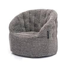 interior bean bags butterfly sofa luscious grey bean bag