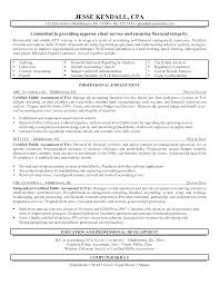 cpa resume certified accountant sle resume cpa resume sle