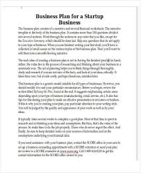 personal business plan templates 6 free word pdf format