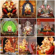 Temple Decoration Ideas For Home Enviroment Friendly Ganesh U0026 Mobalizing Pandals