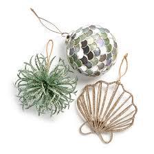 christmas tree ornaments at home