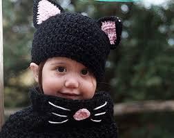 Black Kitty Halloween Costume Black Cat Costume Etsy