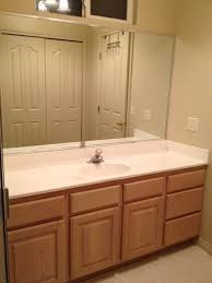 bathroom best gallery bathroom vanity mirrors without frame white
