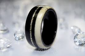 bog the wedding band bog oak wood and deer antler wedding ring i affectionately