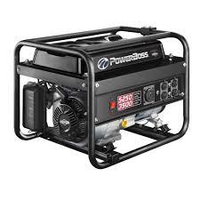 powerboss 3 500 watt gasoline powered recoil start portable