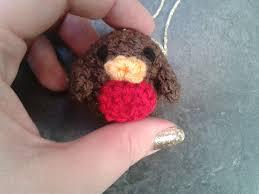 lolly u0027s crafty crochet free pattern little robin christmas tree