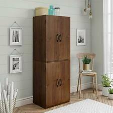 kitchen storage cabinets cheap mainstays 7224328pcom storage cabinet brown