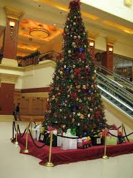 commercial artificial trees lights decoration