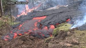 Hawaii Lava Flow Map Lava From Hawaii U0027s Kilauea Volcano Menaces 50 Homes Nbc News