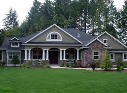 country craftsman house plans house plan 87646 colonial country craftsman plan with 3500 sq