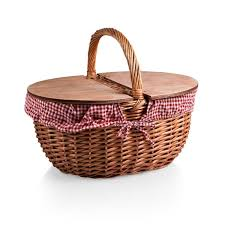 picnic gift basket picnic time country picnic basket reviews wayfair